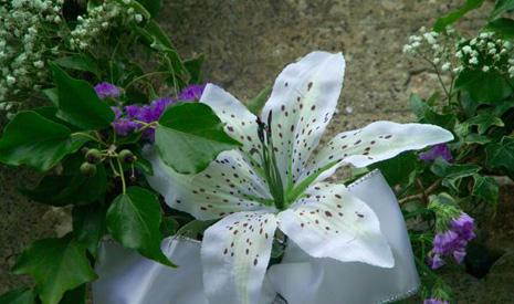 fleurs bouquet de mariée